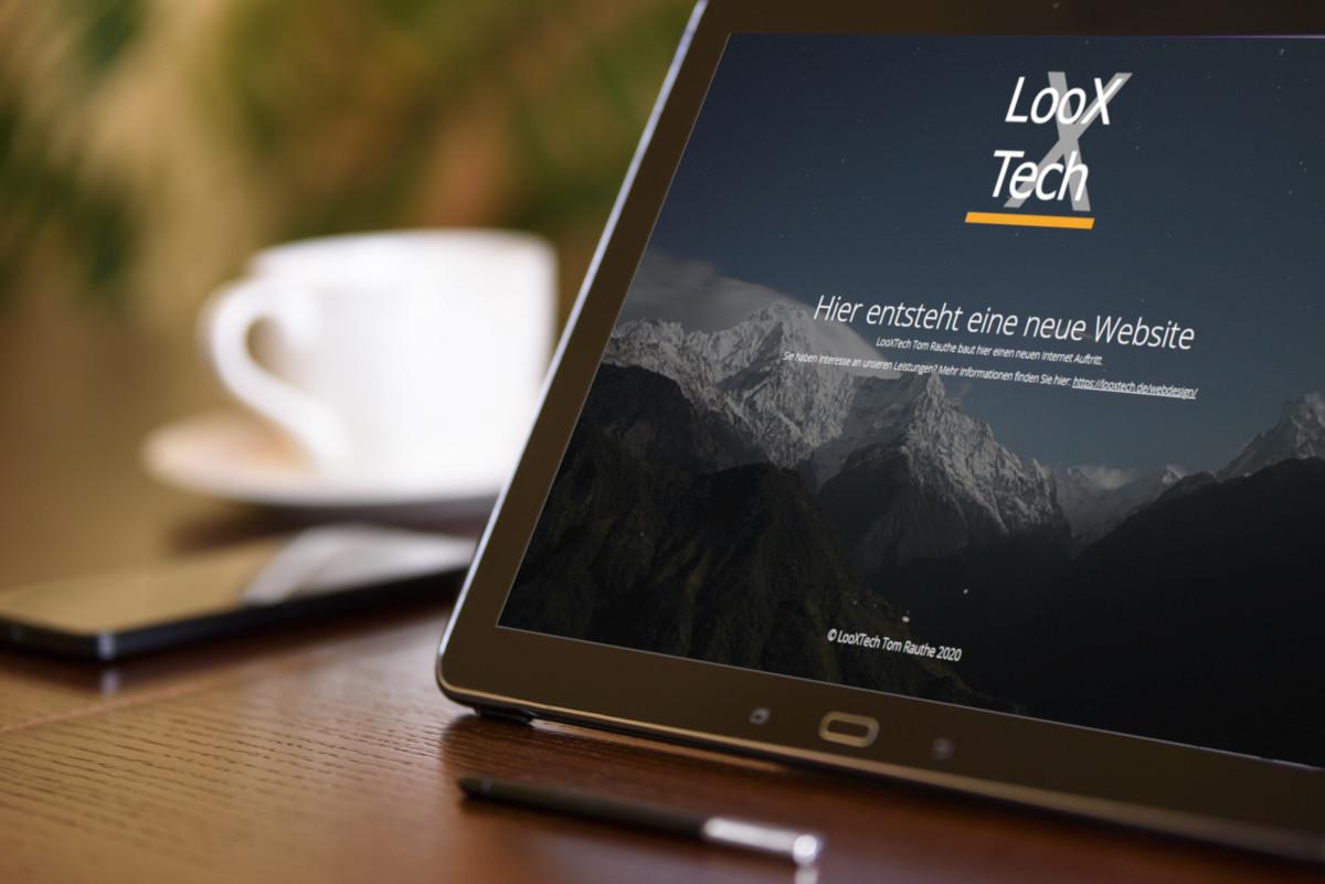 LooXTech Tom Rauthe erstellt für Sie Ihren Webauftritt.