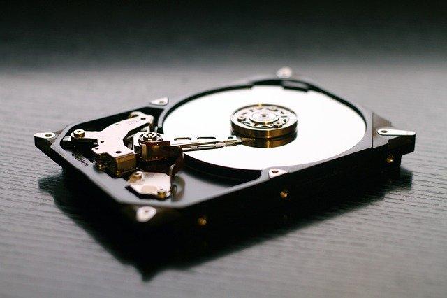 [Foto] einer Festplatte