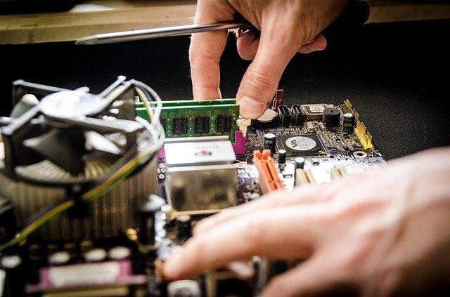 [Foto] eines Hardware-Austauschs