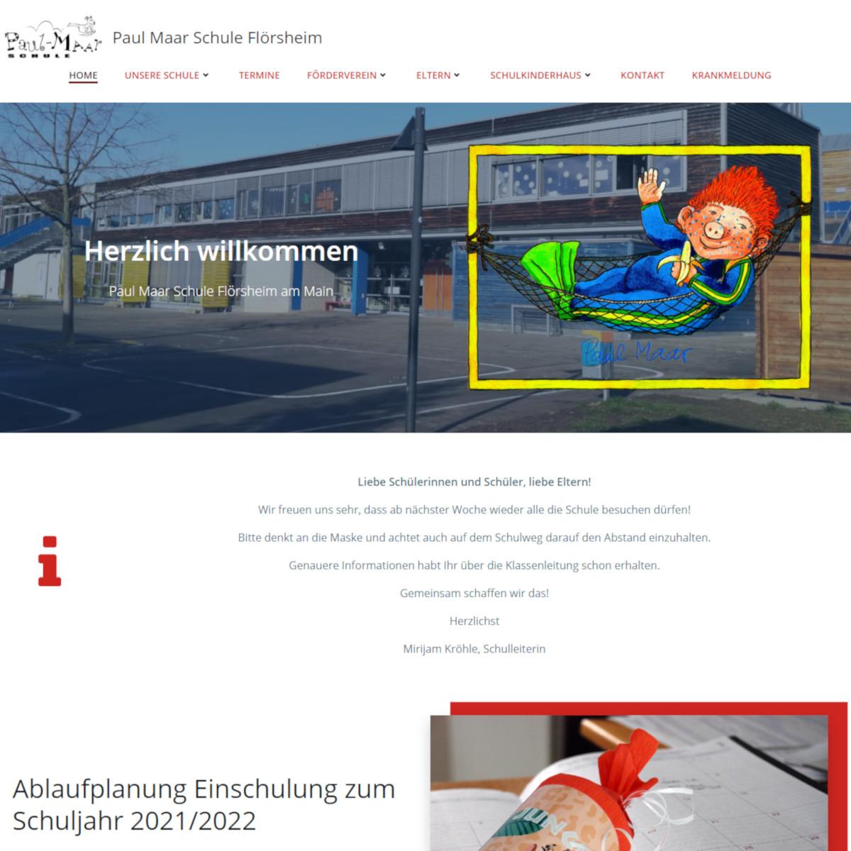 Screenshot von paul-maar-schule-floersheim.de